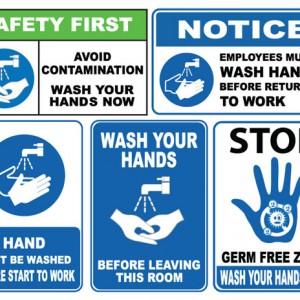 Hygiene & Workplace Signs