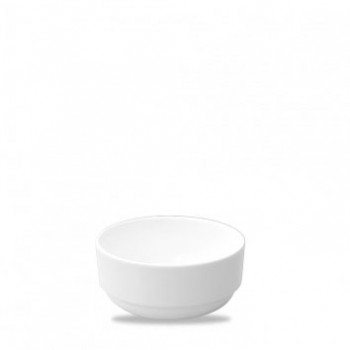 Churchill White Consomme Bowls