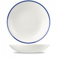 Churchill Retro Blue Coupe Bowl