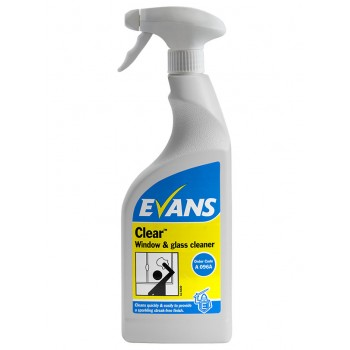 Evans Clear Window & Glass Cleaner