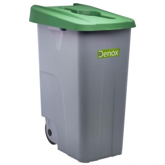 Grey Recycling Bin & Lids
