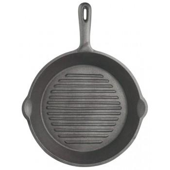 Cast Iron Round Grill Pan