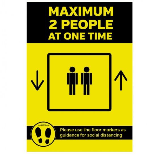 Hygiene Sticker Lift Sign
