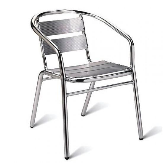 Aluminium Stacking Chair Pack 4