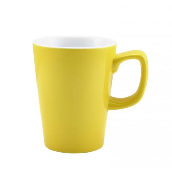 Royal Genware Coloured Latte Mugs