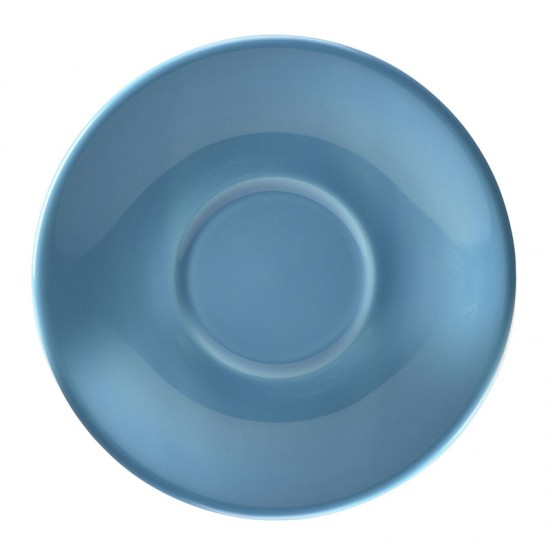 Royal Genware Coloured Saucers