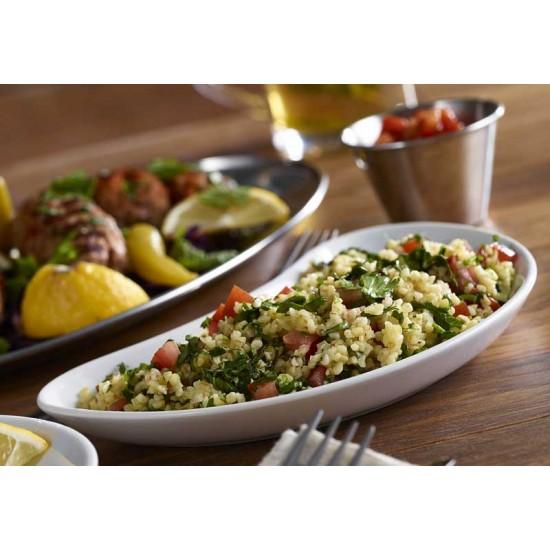 Royal Genware Cresent Salad Dish