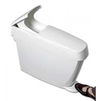 Sanitary Bin 15lt White