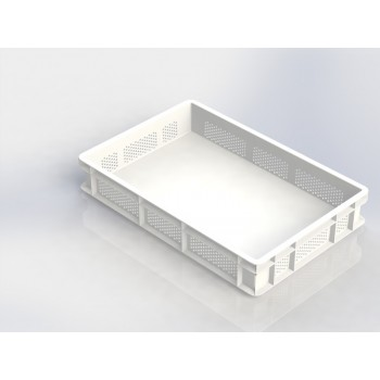 Stackable Dough Box Perforated