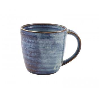 Aqua Blue Terra Porcelain Mug
