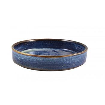 Aqua Blue Terra Porcelain Presentation Bowls