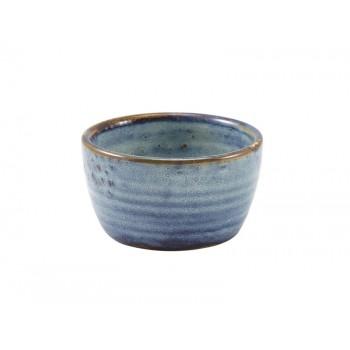 Aqua Blue Terra Porcelain Ramekins