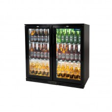 Unifrost Bar Display Cooler Hinged Doors (166 Bottles)