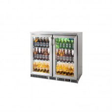 Unifrost Bar Display Cooler Stainless Steel (166 Bottles)