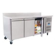 Unifrost 3 Door Counter Work Top Fridge 417lt