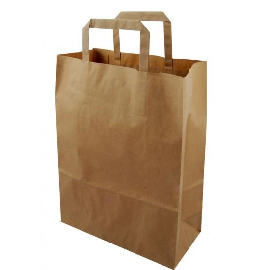 Brown Paper Carrier Bag (250)