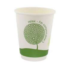 Compostable Single Wall Coffee Cup