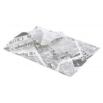 Greaseproof Paper Newspaper Print