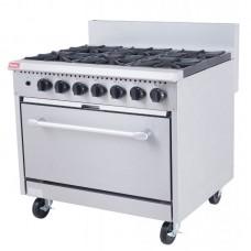 Banks 6 Burner Cooker with Oven