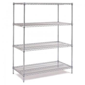 Chrome Shelf Racking Sets