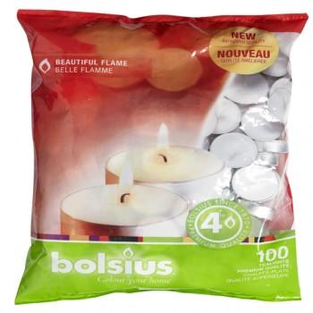 Bolsius Premium 4hr Tealights
