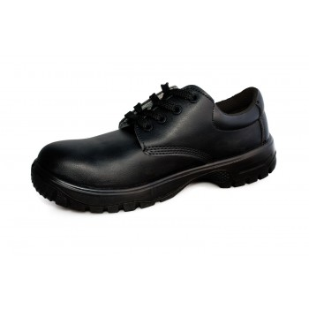 Comfort Grip Lace-up Safety Shoe