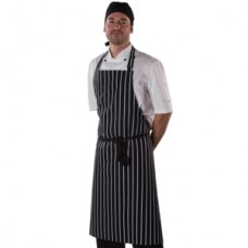 Denny's  Striped Cotton Apron