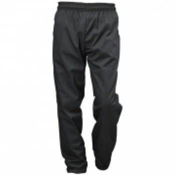 Black Baggie Chef Trousers